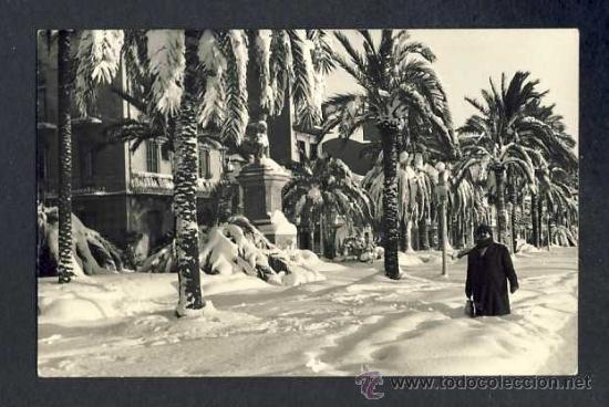 FOTO DE BADALONA: NEVADA DEL 1962