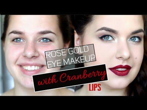 4.Naked - 3 Cranberry lips.Осенний макияж с бордовыми губами - YouTube