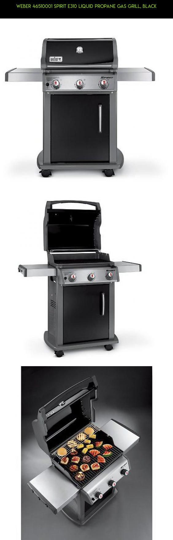 Weber 46510001 Spirit E310 Liquid Propane Gas Grill, Black #technology #products #gas #racing #camera #shopping #plans #grills #kit #parts #gadgets #fpv #drone #tech #weber