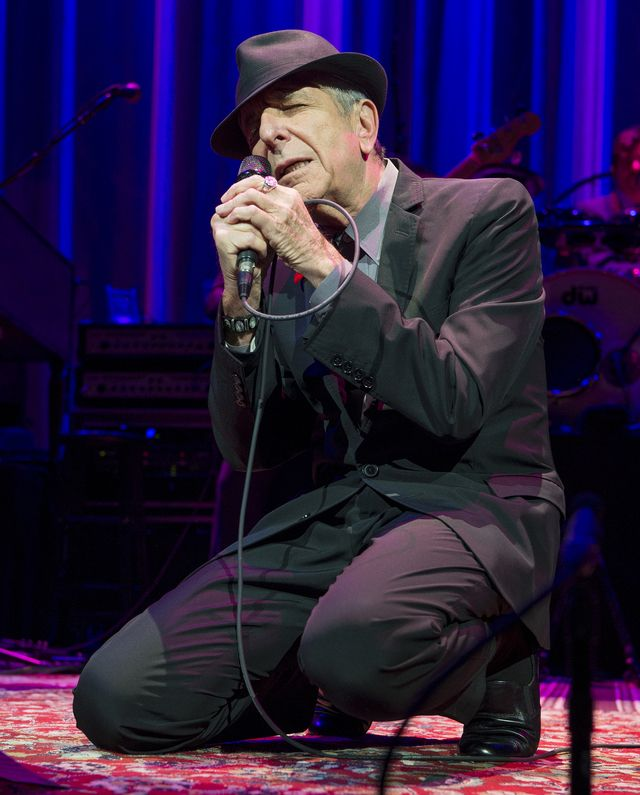 ... greatest luminaries, Leonard Cohen. - Anthony Pidgeon / Getty Images