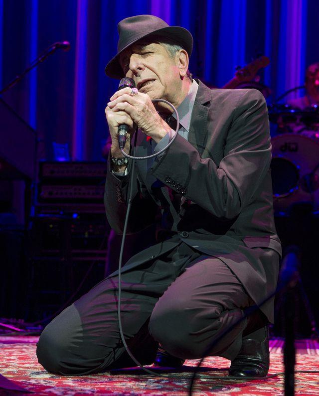 ... greatest luminaries, Leonard Cohen. - Anthony Pidgeon / Getty Images