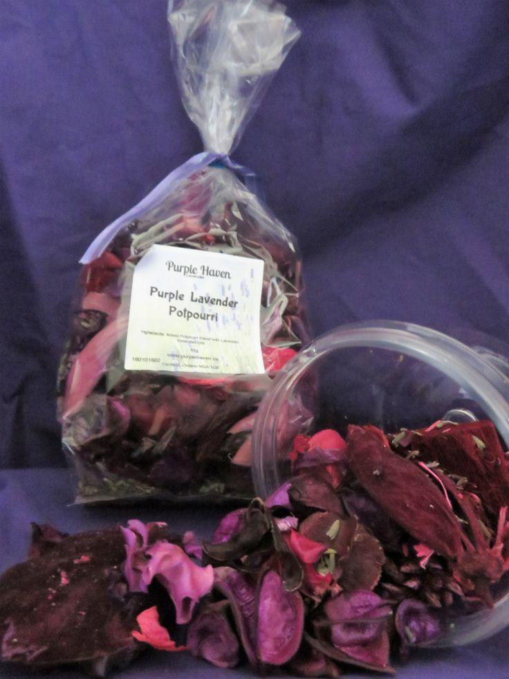 Purple Lavender Potpourri by PurpleHavenLavender on Etsy