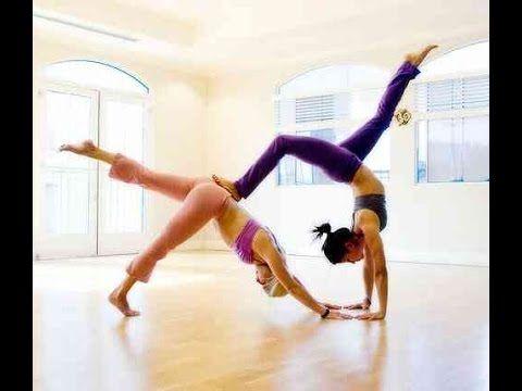 2 girls yoga challenge  ultimate gymnastics yoga