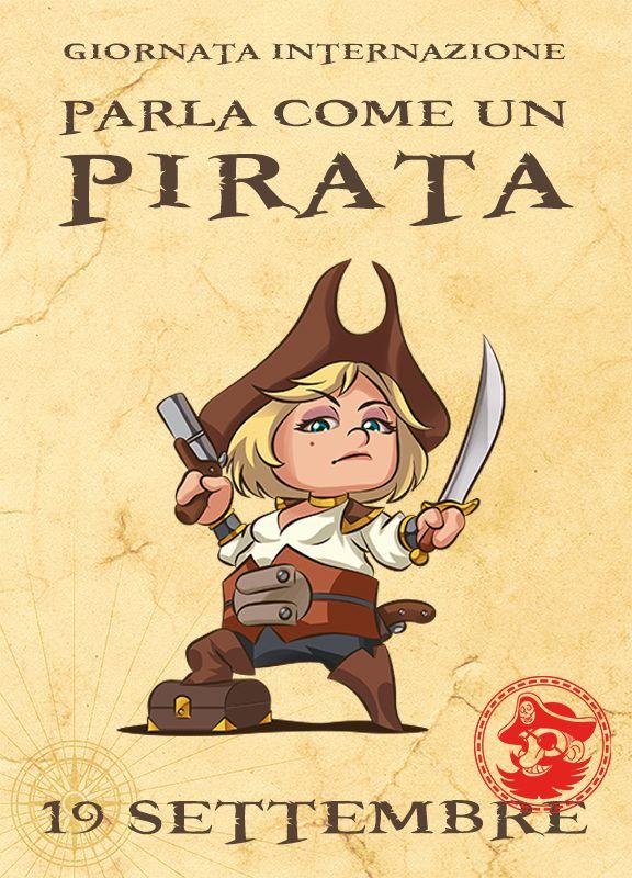 Talk Like a Pirate Day. Come può ARRR!!! ingorare questo evento?