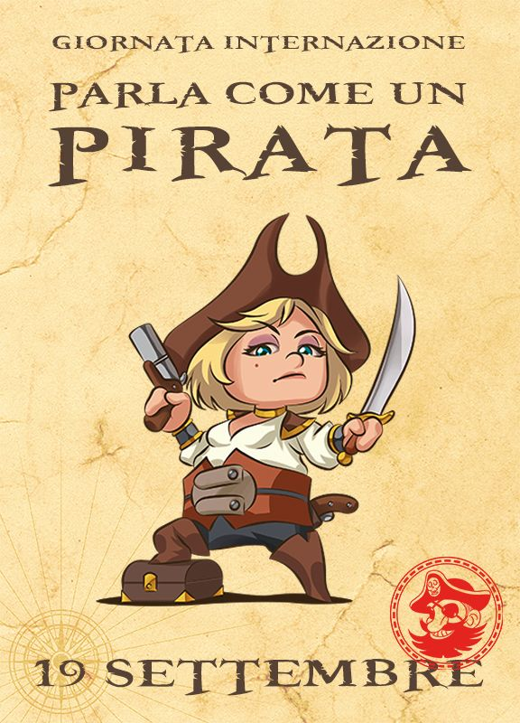 Talk Like a Pirate Day. Come può ARRR!!! ingorare questo evento?