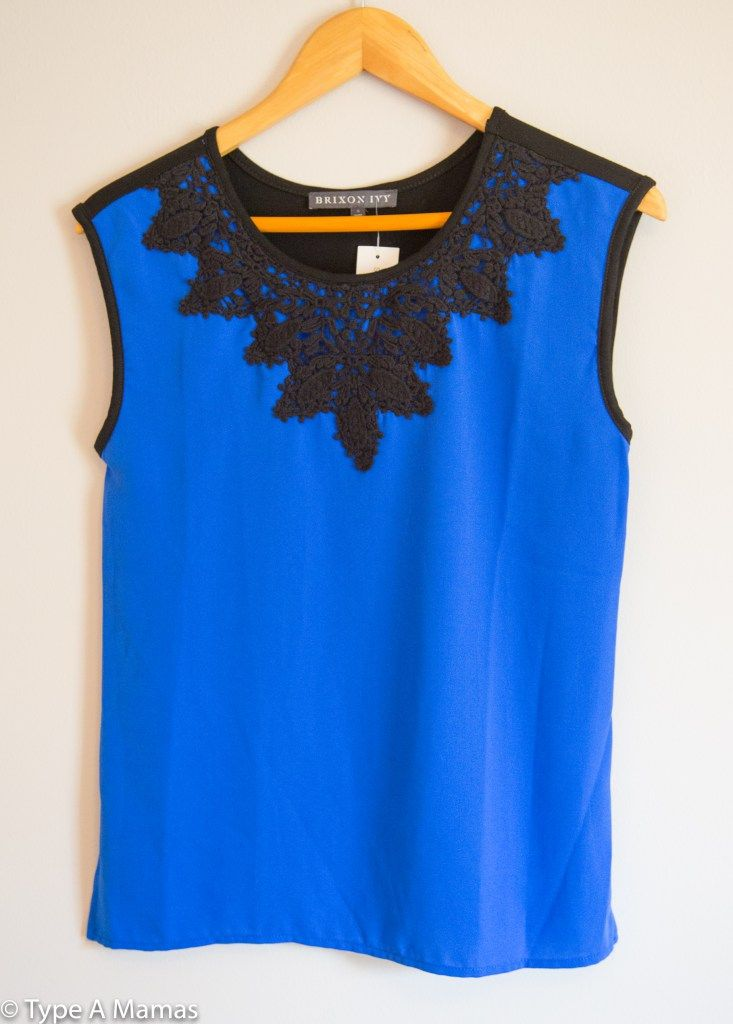 Lace Overlay Blouse Fashion Ql