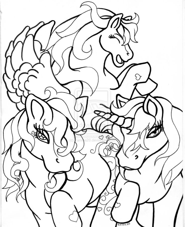 The 33 best images about Horse coloring book pages on Pinterest