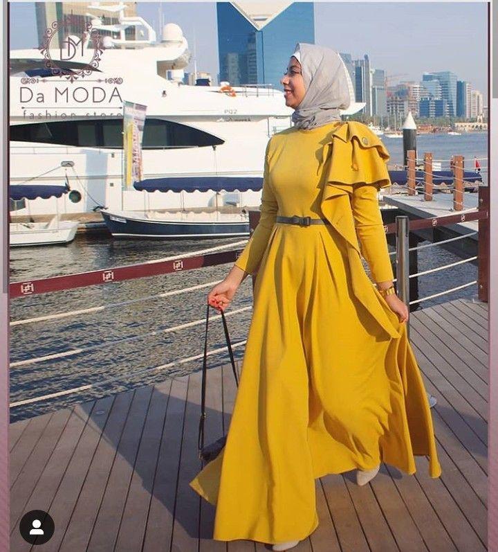 Yellow Muslim Fashion Muslimah Fashion Outfits Modest Fashion Hijab