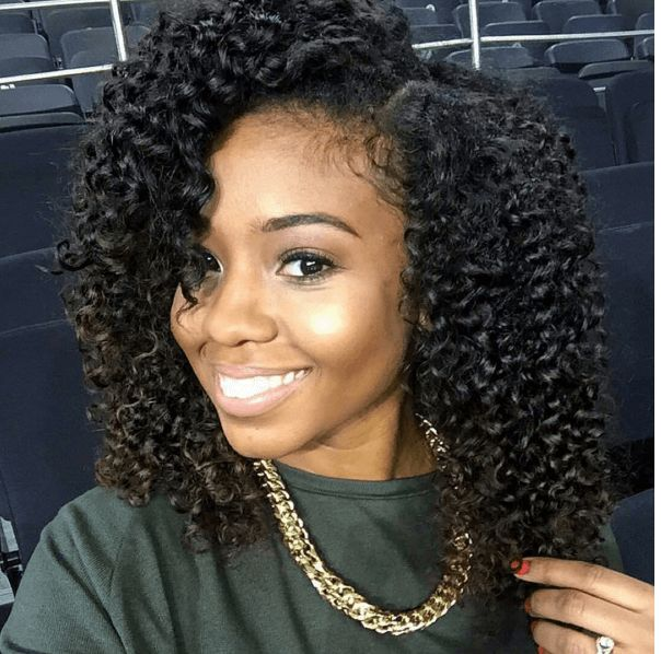 Natural Hairstyles Using Cantu Products