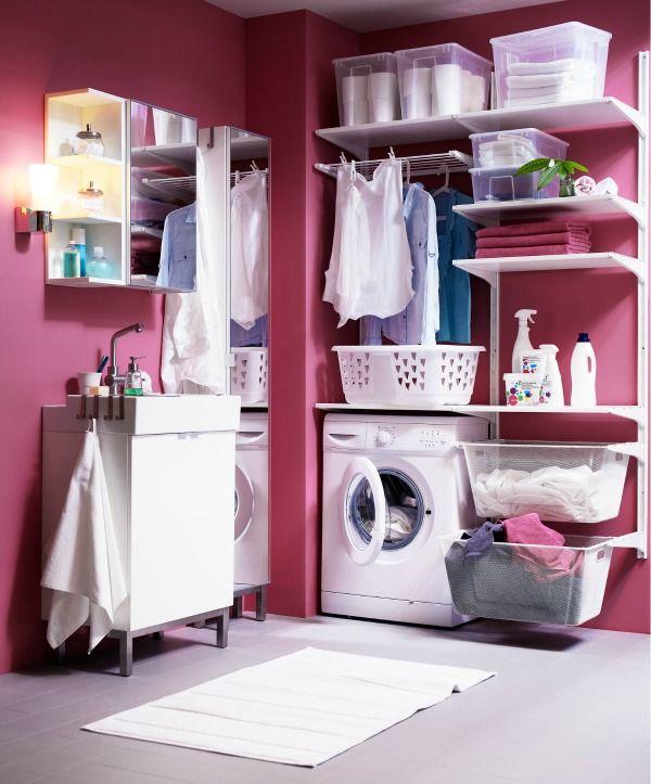 Over de inrichting van je washok denk je minder na dan je for Berging inrichten