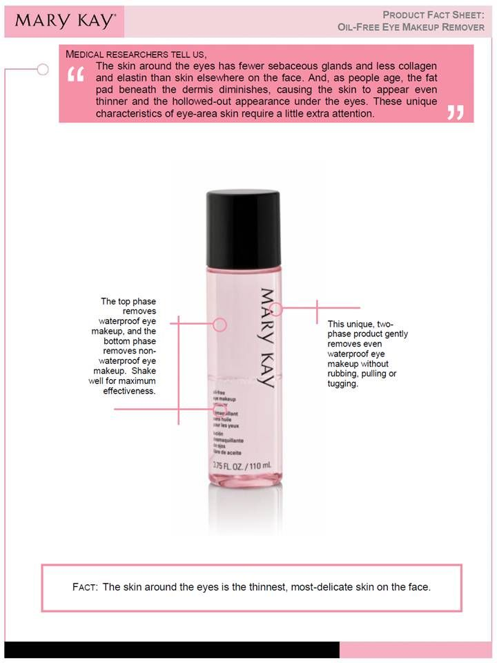 Mary Kay oil free eye makeup removerwww.marykay.com.mx/almareza #marykaydfsur Facebook/Ilumina tu Belleza con Mary Kay
