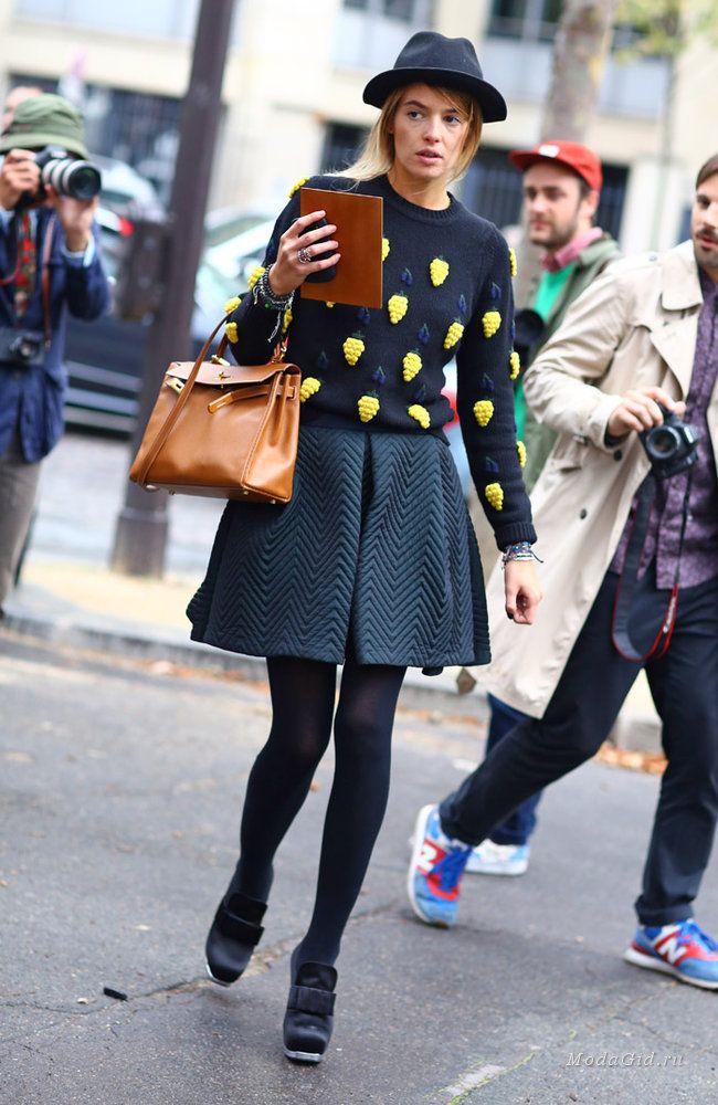 Уличная мода: Стиль Карлотты Одди