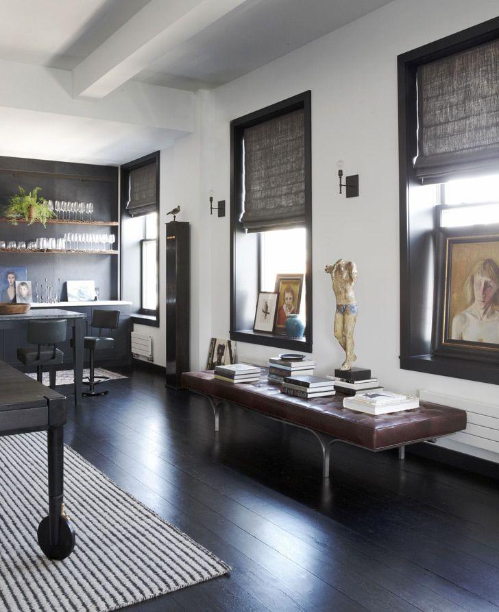 Лофт для семьи писателя в Нью-Йорке | Пуфик - блог о дизайне интерьера