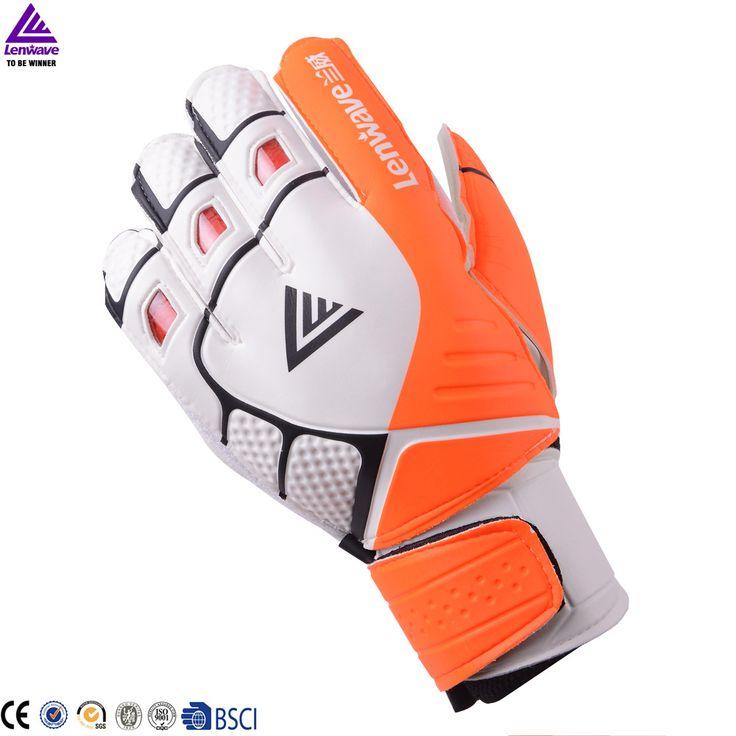 buy lenwave brand high quality popular sport gloves goalkeeper soccer football goalie gloves #goalkeeper #gloves