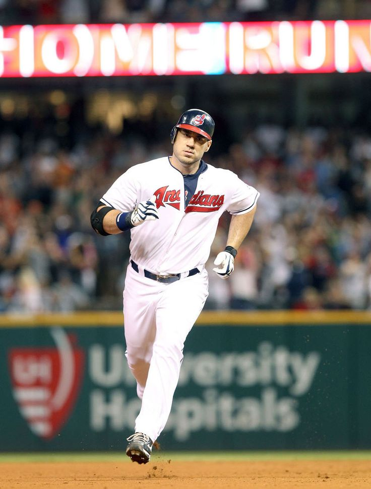 From 2003-2012, Travis Hafner was the designated hitter for the Cleveland Indians. He ended his career with a .273 batting average, 213 home runs and 731 RBI's.