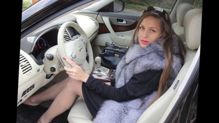 Woman In Silver Fox Fur Part 8