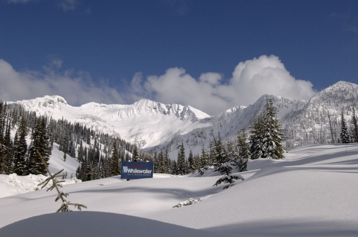 Whitewater Ski Resort, Nelson BC. The land of white powder settings for as far and wide as you can ski! And half an hour from home!