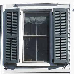 """""""How Exterior Shutters Can Ruin the Appearance Of your Home And What You Can Do to Fix Them."""" Finally! A website that cares as much as I do about why people put stupid non-functioning versions of useful things on their homes and how those things were actually meant to be used!"""