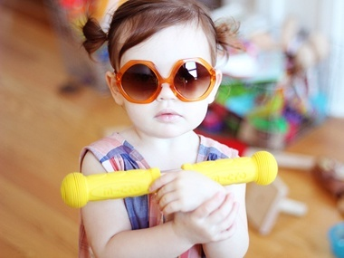 BonLook Sunglasses for Kids | Everywhere - DailyCandy Trendy chic kid sunglasses that channel the 70's