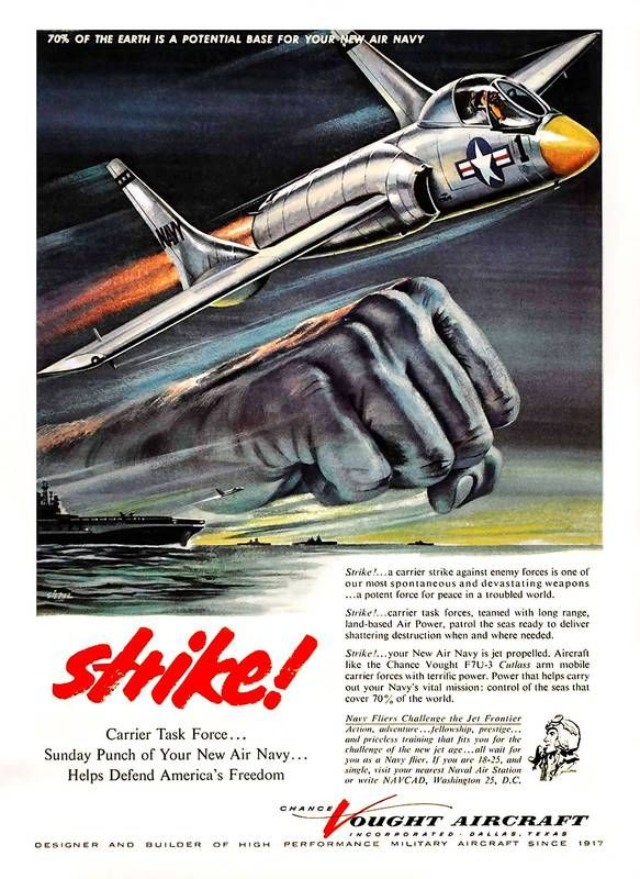 check it out http://earth66.com/vintage/strike-carrier-task-force-potent-force-peace-troubled-world-cold-war-failed-f7u-cutlass-navy-carrier-based-jet-fighter-1954/