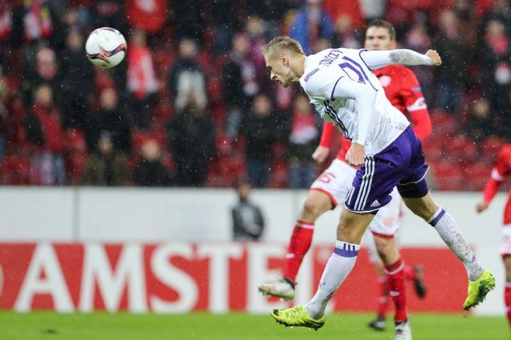 E-Legue 16/17: Mainz05 - RSC Anderlecht 1:1 -Strafe für die Mainzer Nachlässigkeiten: Trotz klarer spielerischer Dominanz. das 1:1 durch Teodorczyk.