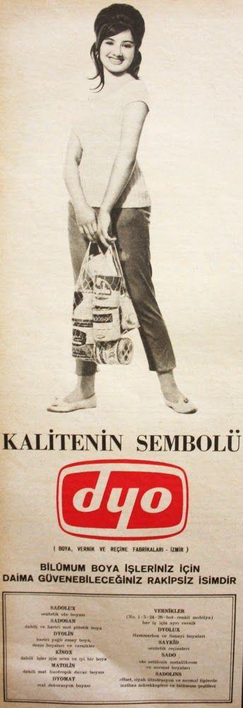OĞUZ TOPOĞLU : dyo kalitenin sembolü 1963 nostaljik eski reklamla...