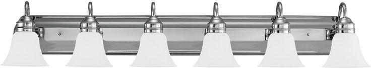 0-021812>Gladstone 6-Light Bath Vanity Chrome