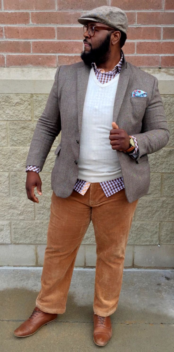 Spring Layers   #BigAndTall #Fashion #Style #Menswear #mensstyle #MensFashion