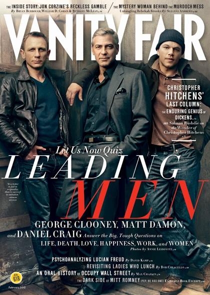 uh huh: Daniel Craig, George Clooney, Vanities Fair, Fashion Icons, Hot Matte Damon, Celebs Lovers, Boys, Leaded Men, Magazines Photo