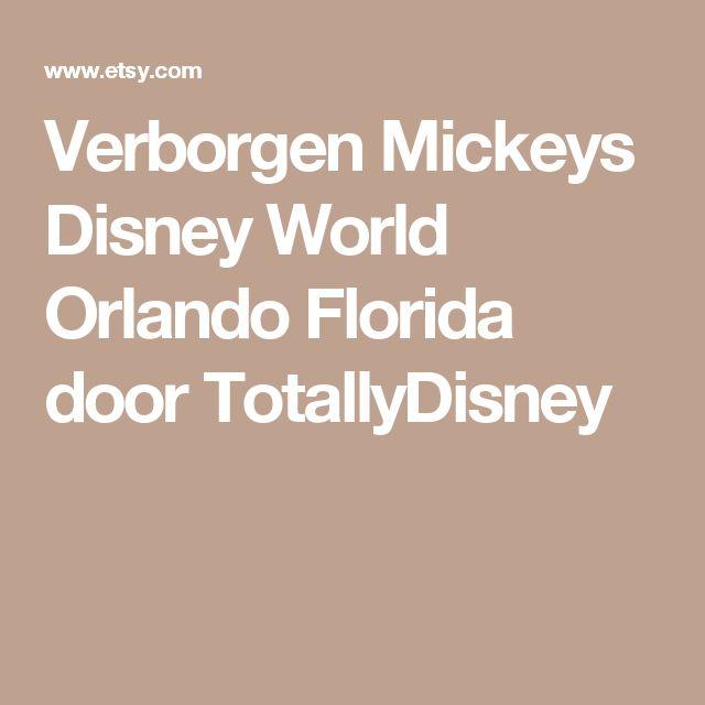 Verborgen Mickeys  Disney World  Orlando Florida  door TotallyDisney