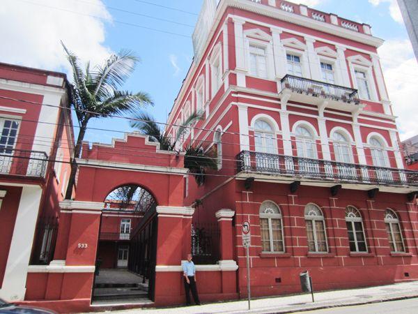 Museu da Fotografia de Curitiba e Gibiteca. Solar do Barão. Curitiba/PR.