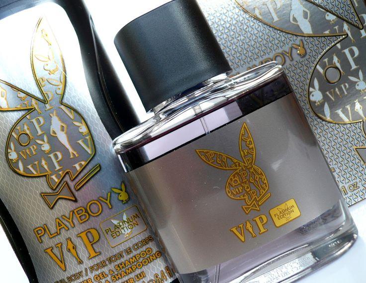 Playboy VIP Platinum Edition Eau de Toilette & Shower Gel\Shampoo. For Him.