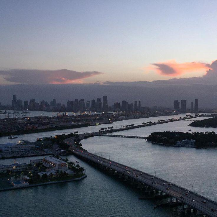 Beautiful #Miami from #Southbeach
