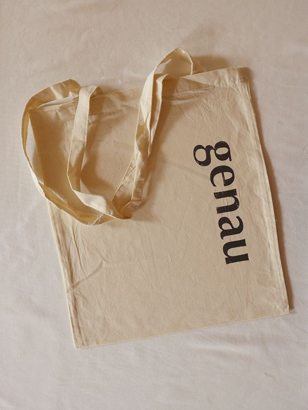 Genau Cotton Tote via Tribe of E. Click on the image to see more!