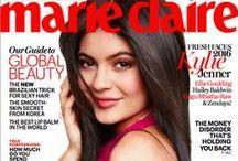 Marie-Claire (MC) is een concurrent van Vogue Paris. Met meer dan 150.000 volgers doet ook MC aan goed communicatief gebruik. Er zijn ook verschillende borden met verschillende rubrieken. Je kunt als het ware het magazine online lezen.