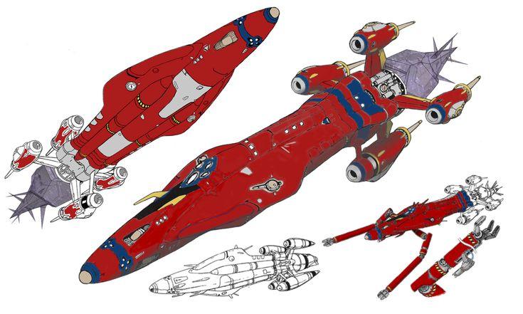 The outlaw star schematics.