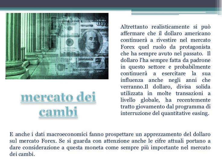 mercato-dei-cambi by cambiovaluta via Slideshare