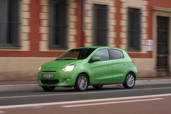 2014 Mitsubishi Mirage First Drive. The Three-Cylinder, 40 MPG Hatchback That's Headed for America