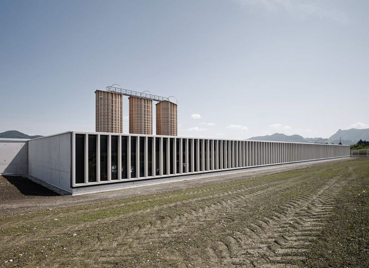 Marte.Marte Architekten, Marc Lins · Motorway Maintenance Centre