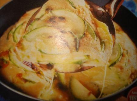 Receita de Fritada de Abobrinha - fritada e faça o mesmo do outro...