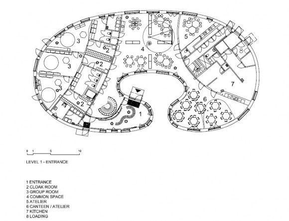 Exceptional The Tellus Nursery School Ground Floor Plan Architecture Design Design Inspirations