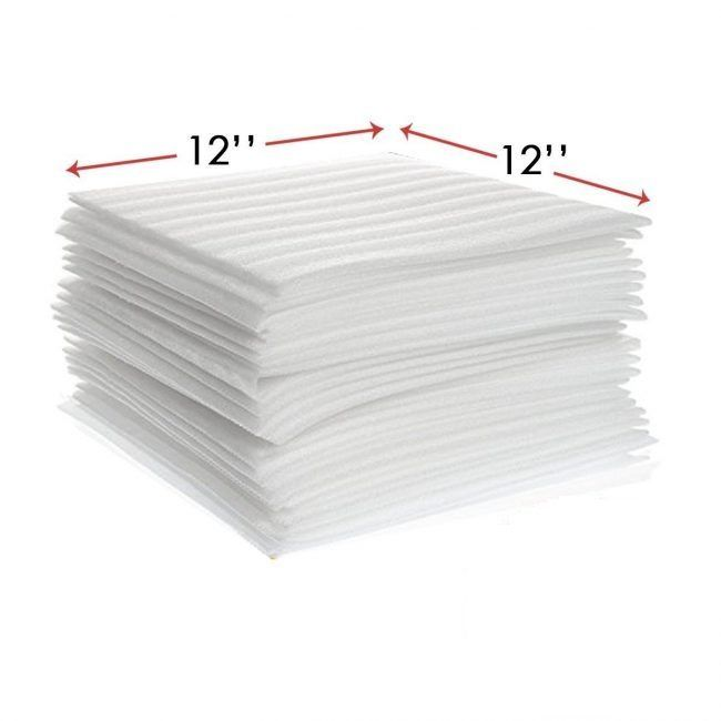 12 X 12 Packing Foam Sheets Wrap 50 Sheets Enko Products Foam Sheets Buy Foam Styrofoam Sheets