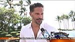 Sam talked to Triple Threat Award Winner Joe Manganiello at the 2014 Maui Film Festival. This segment aired on the KTLA Morning News on Monday, June 9,2014