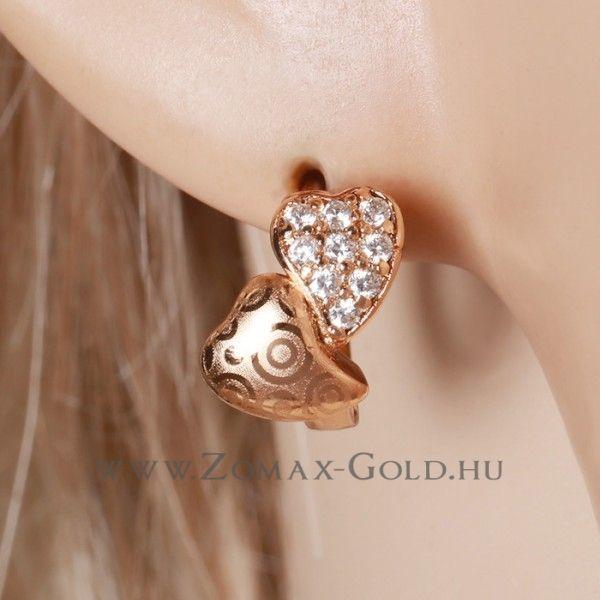Naomi fülbevaló - Zomax Gold divatékszer www.zomax-gold.hu