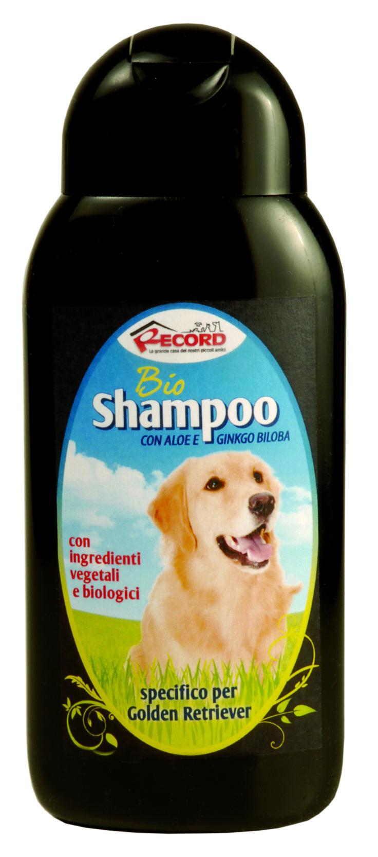 #Bio #shampoo specifico per #cani #GoldenRetriver, by Record. www.recordit.com