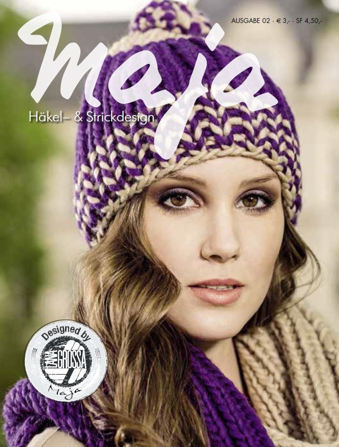 41 best Häkel- und Strickdesign Maja No. 2 images on Pinterest ...