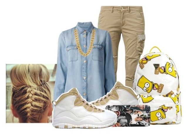 """Summer CookOut OutFit..."" by xxxxkirk ❤ liked on Polyvore featuring FRACOMINA, 7 For All Mankind, Joyrich and Retrò"