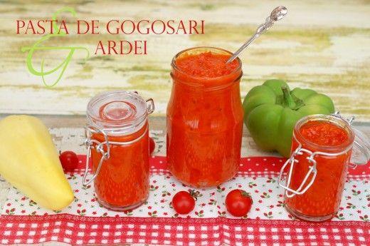 Pasta de gogosari si ardei (pentru gatit) - Teo's kitchen