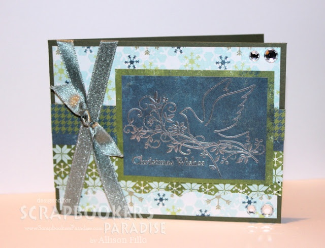 by Allison for the Friday Challenge at Scrapbooker's Paradise Blog: Cardmakingstampin