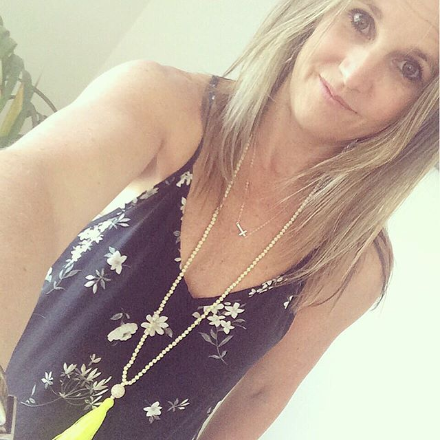 What better way to brighten up your outfit than with a splash of colour through your accessories. Here I'm wearing our fun neon yellow tassel necklace - I love wearing it on black, white & grey - my staple wardrobe colours!  It's the easiest way for me to bring colour to my outfits. Available online http://www.memeandco.com/jewellery/neon-yellow-tassle-necklace
